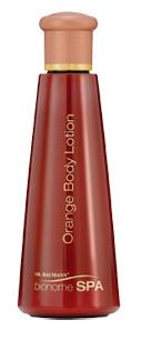 Bionome spa orange body lotion