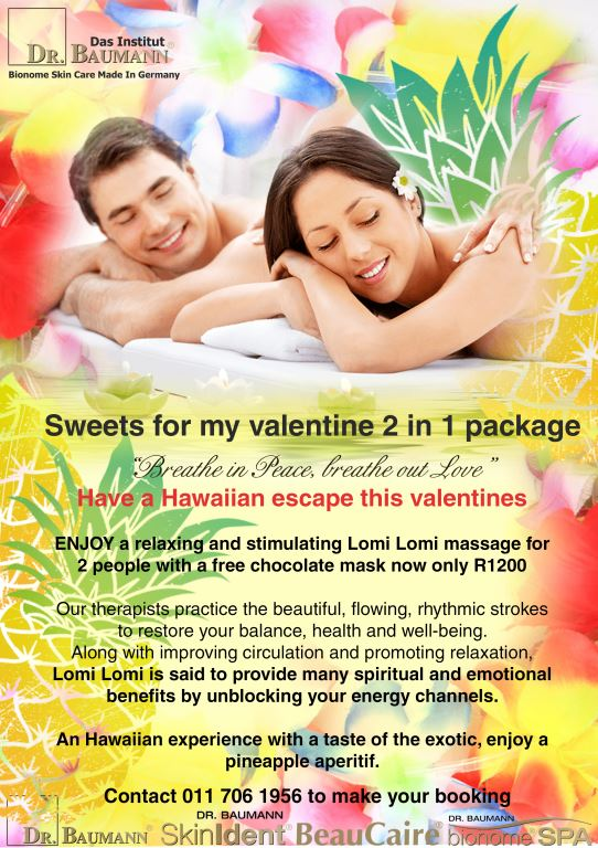 Couples Treatments Hawaiian escape Layout