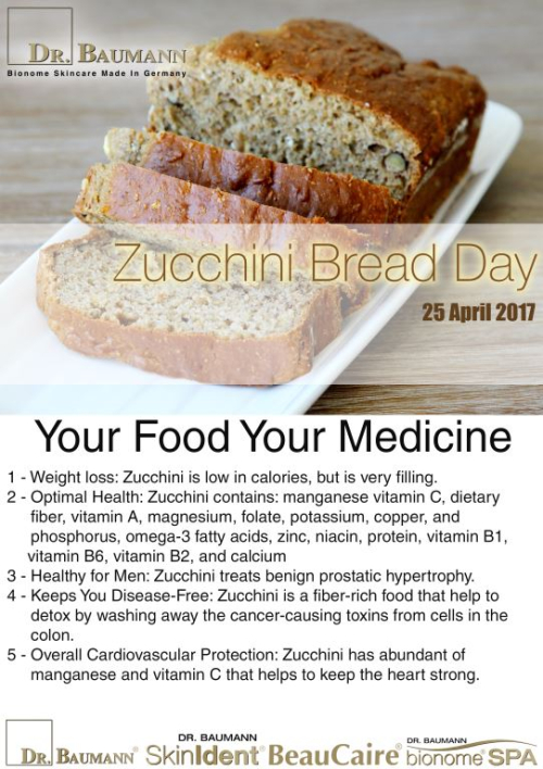 Zucchini Bread Day Layout with text