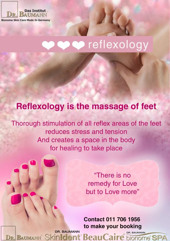 Valentines day Reflexology and Pedicure Layout